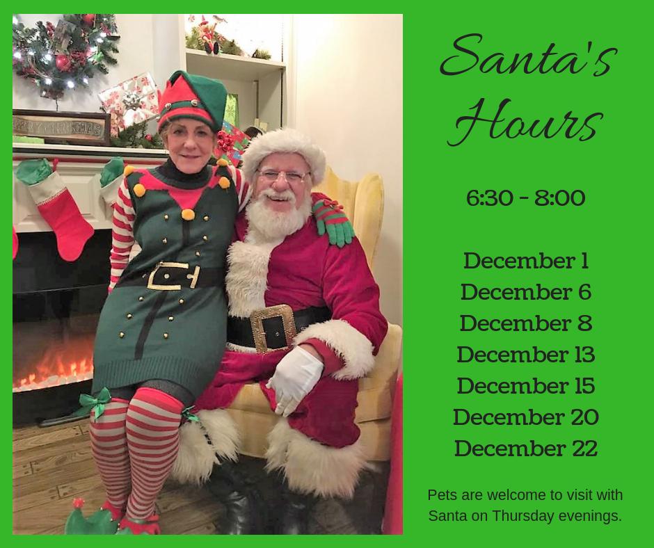 Santa'sHours